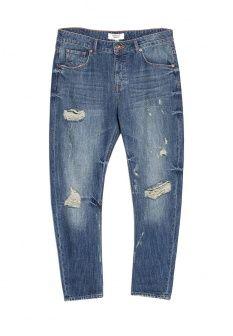 Джинсы Mango, цвет: синий. Артикул: MA002EWEAR98. Женская одежда / Джинсы