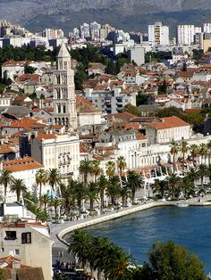 View from Marijan Hill, Split, Croatia (by dena_split).