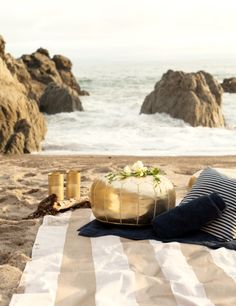 Glamorous Beach Picnic