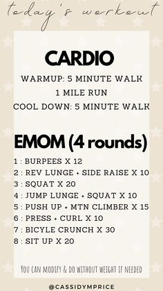 Home - Cassidy Price Emom Workout, Workout Bodyweight, Cardio Fitness, Wellness Fitness, Fitness Tips, Fitness Motivation, Tabata, Crossfit Workouts At Home, At Home Workout Plan