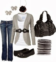 Get Inspired by Fashion: Casual Outfits | Black Rose