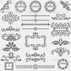Frame Elements » Tinkytyler.org - Stock Photos & Graphics
