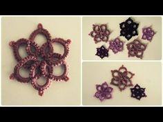 Needle Tatting Necklace - YouTube