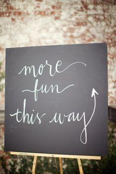 chalkboard signage auction-2013-ideas