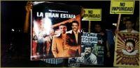Leonel Fernandez vuelve a ser objeto de protestas por ciudadanos demandan sea enjuiciado