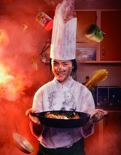 Chef Conceptual Photo Shoot & BTS - By Photographer Manchul Kim, Korea