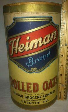 Heiman Brand Rolled Oats