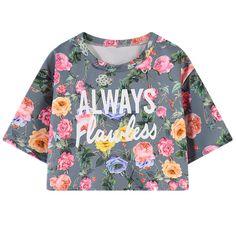 Casual Summer T shirt Women Print Floral Shirts Fashion Harajuku Crop Top Short Sleeve Letter T-Shirt Dress Women's blusa Tops
