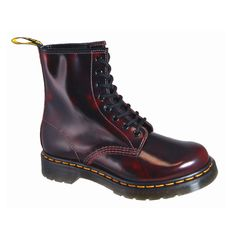 Dr. Martens Men's 1460 8 eye Rogue Arcadia Cherry Red  #JustBuyTheShoes