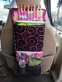 Car Organizer by AmyAndAdrienne on Etsy, $26.00
