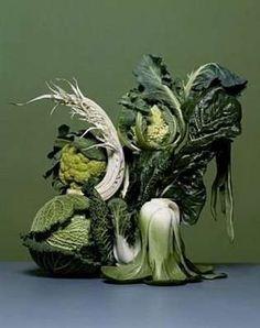Veggie sculpture