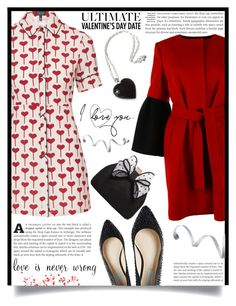 """""""Valentine's day"""" by dolly-valkyrie ❤ liked on Polyvore featuring Topshop, Albino, NOVICA, Disney, Betsey Johnson, Miss KG, women's clothing, women, female and woman"""