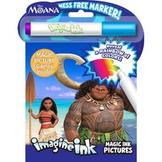 Bendon Moana Imagine Ink Magic Ink Pictures! from Blain's Farm and Fleet
