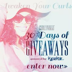 I just entered CurlyNikki Spring 2015 Giveaway to win some amazing curly hair prizes on CurlyNikki.com! You should enter too. It's easy, click here: http://www.naturallycurly.com/giveaways/CurlyNikki-Spring-2015-Giveaway/st/5526684d44c4c1.65179510
