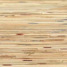 OT10622 : Beige Bamboo Grasscloth with Teal and Maroon Accents | Astek Wallpaper: Exotic Naturals of Asia Grasscloth Wallcovering