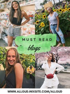 Check out my fav blogs and enjoy!