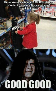 All about the dark side.....