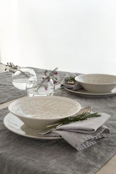 This soup plate belongs to Vanilja tableware series. Designed by Anu Pentik, delicious and rich-in-style Vanilja series makes a fantastic collector's item that brings vanilla to everyday life and festive occasions! Made in Posio, Lapland, these pottery ut