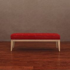 @Overstock - Enhance your home and living decor with this uniquely styled Valencia nail head leather bench. This leather bench features a red upholstery, natural reclaimed finished wood and silver nickel-finished individual nail heads. http://www.overstock.com/Home-Garden/Valencia-Red-Leather-Nail-Head-Bench/6328198/product.html?CID=214117 $135.99