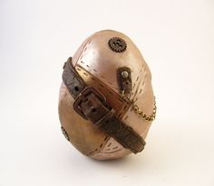 Steampunk Decorative Egg  Dragon Egg by dynamicalley on Etsy, $25.00