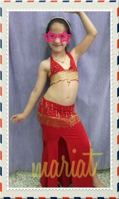 Baby belly dance costume..😚