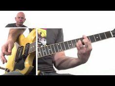 Eric Clapton Cocaine Riff Guitar Lesson - YouTube