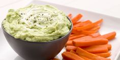 This ultra-creamy dip is packed with protein and healthy fats.