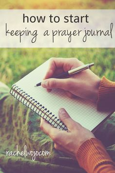 Have you ever wanted to start writing a prayer journal but just didn't know where to begin? You're not alone. Today we're answering this reader's question of how to actually begin keeping a prayer journal. Your