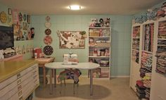 Awesome #sewing #craft #room