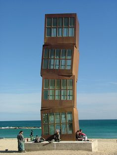 Barcelona beach - perfect for Sunday afternoons :)