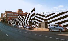 Craftsmen's Ship façade by Stephen Hobbson, 260 Main Street, Maboneng Precinct, Johannesburg Architecture Wallpaper, City Architecture, Johannesburg Africa, Africa Craft, Travel Wallpaper, Fashion Wallpaper, Wallpaper Magazine, Urban Setting, Street View