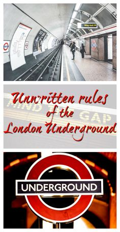 As any London-dweller will tell you, there are unwritten rules when you're travelling on the Tube - London's Underground. Here are just a few, for when you're visiting the UK capital. #travel #London #tips #traveltips #Underground #LondonUnderground