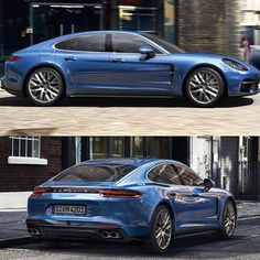 2017 Porsche Panamera. Can see the cues taken from 911 and the latest Boxster/Cayman 718, but Porsche should stick to making sports cars