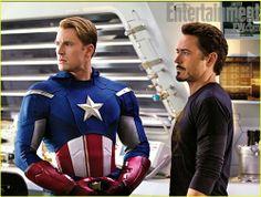 Capitan America & Tony Stark