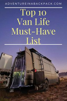These #vanlife hacks are things that have made our life on the road easier, more comfortable, and more enjoyable.