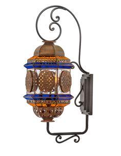 Custom Reale Lantern on Bracket