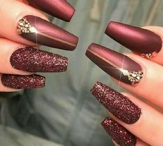 """your success is our reward"" – Ugly Duckling Nails Inc. - elegant ""your success is our reward"" – Ugly Duckling Nails Inc. Burgundy Nail Polish, Burgundy Nail Designs, Burgundy Acrylic Nails, Oxblood Nails, Magenta Nails, Nails Turquoise, Maroon Nails, Pink Polish, Nails Inc"