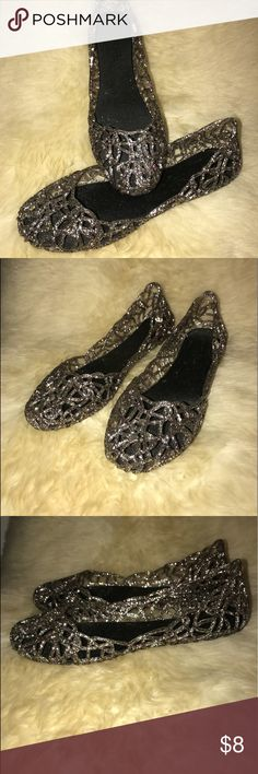Glitter jelly flat Glitter jelly flat Shoes Flats & Loafers