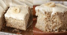 The Best Banana Cake - Spend With Pennies Banana Dessert Recipes, Banana Pudding Recipes, Apple Cake Recipes, Banana Sheet Cakes, Banana Crumb Cake, Best Ever Banana Cake, Best Banana Bread, Best Pound Cake Recipe, Pound Cake Recipes