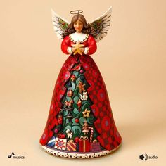 Heartwood Creek Musical Christmas Angel - via Ebay
