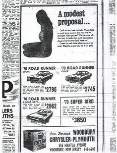 Old Advertisements, Car Advertising, Vintage Ads, Vintage Iron, Used Car Lots, Old School Muscle Cars, Plymouth Muscle Cars, Dodge, Car Prices