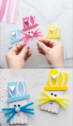 easter crafts for kids \ easter crafts . easter crafts for kids . easter crafts for toddlers . easter crafts for adults . easter crafts for kids christian . easter crafts for kids toddlers . easter crafts to sell Easter Art, Bunny Crafts, Easter Crafts For Kids, Toddler Crafts, Easter Bunny, Bunny Bunny, Easter Decor, Easter Centerpiece, Easter Table