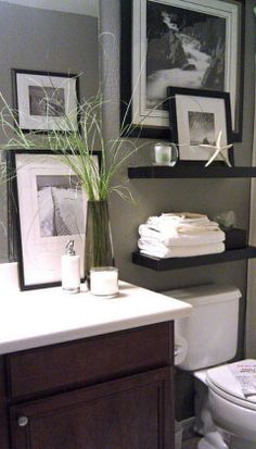 Easy DIY Wall Organizers - Bathroom Rescue - Click Pic for 19 DIY Storage Ideas for Small Bedrooms