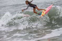 Hitting the lIp. Luv Surf Team Rider - Bree Smith