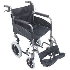 Compact Transport Aluminium Wheelchair  €308.10  Compact Transport Aluminium Wheelchair features a lightweight and compact aluminum frame. I...