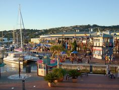 Knysna is a little town with a spectacular marina! Knysna, Best Location, Beautiful Places To Visit, Bed And Breakfast, Lodges, South Africa, Street View, Good Things, Cabins