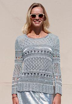 Damen-Pullover Yasamin - Strickanleitungen bei Makerist