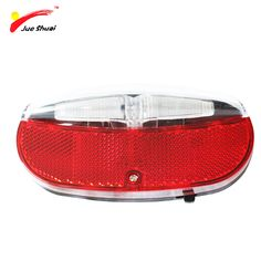 JS Rear Light Bike Light Bicycle Tail Light Power Battery Safety Reflector Frame Warning Bicycle Cycling Light Tail Lamp parts