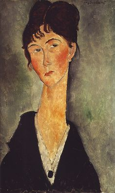 Modigliani Bust of a Woman with a Necklace | da griffinlb