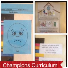 The Champions Curriculum assists the students in understanding that our thoughts influence our feelings and our feelings influence our actions. Controlling our thoughts ultimately results in controlling our behavior. Here is one activity in the curriculum that teaches students to own their actions and to control them.
